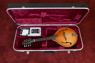 Second hand Paul Shippey A5 mandolin